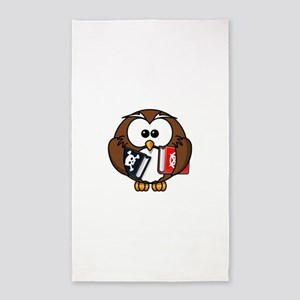 Studious Owl Area Rug