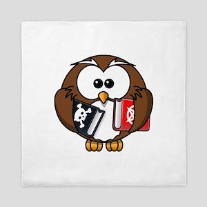 Studious Owl Queen Duvet