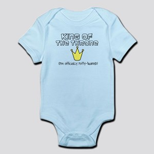 King of the throne Infant Bodysuit