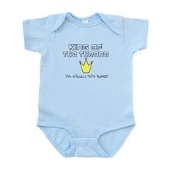 King of the throne Infant Bodysuit