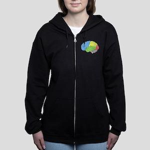 Primary Brain Women's Zip Hoodie