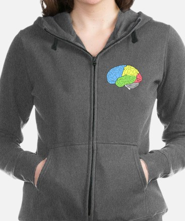 Primary Brain Women's Zip Hoodie