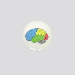 Primary Brain Mini Button