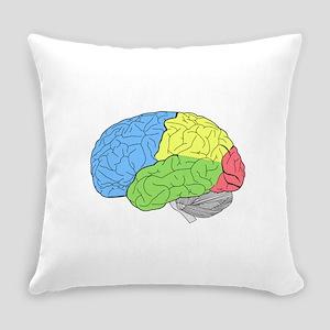 Primary Brain Everyday Pillow
