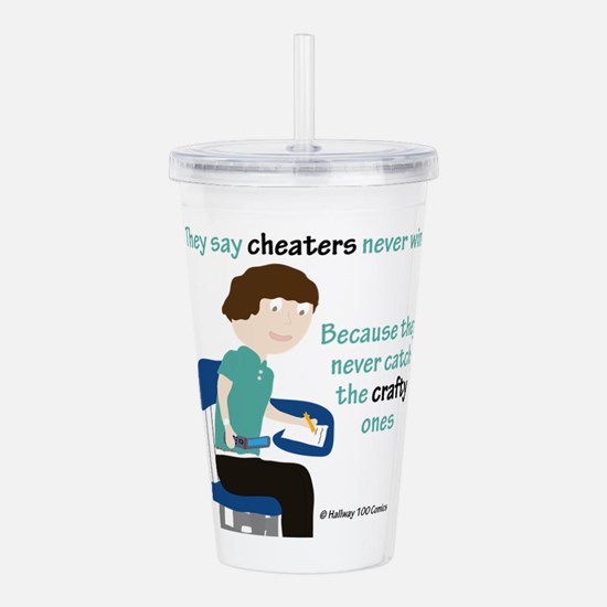 Cheating High School Acrylic Double-wall Tumbler