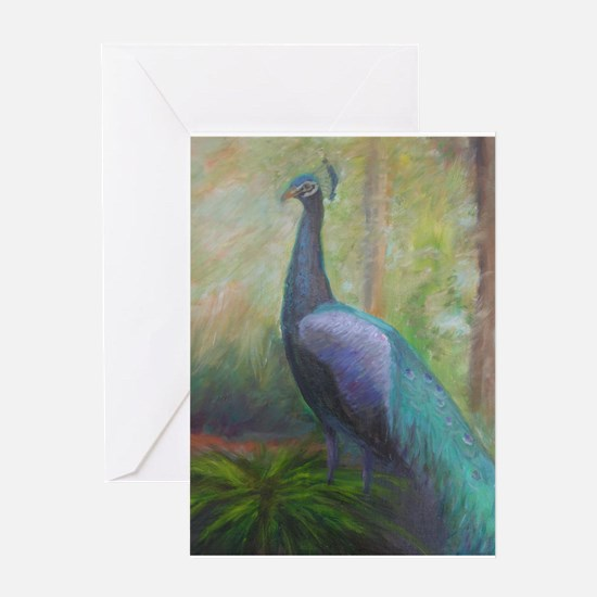 PEACOCK Greeting Cards