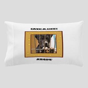 Save a life Adopt Pillow Case