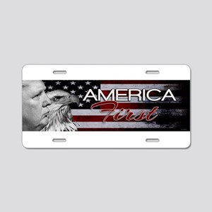 DWX EAGLE ONE AMERICA FIRST Aluminum License Plate