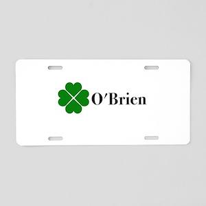 O'Brien Aluminum License Plate