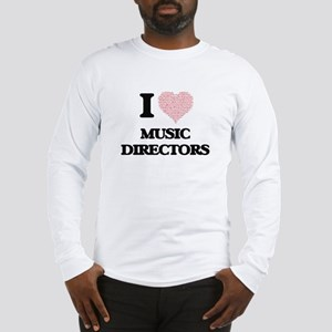 I love Music Directors (Heart Long Sleeve T-Shirt