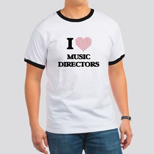 I love Music Directors (Heart made from wo T-Shirt
