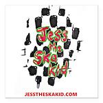jtsk logo Square Car Magnet 3