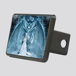 Ice Queen and Dragon Rectangular Hitch Cover