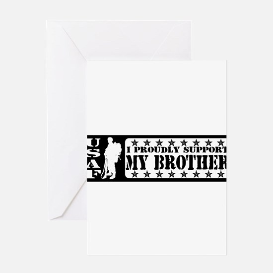Cute Air brother force Greeting Card