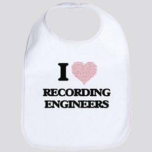 I love Recording Engineers (Heart made from wo Bib