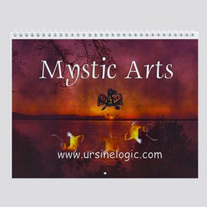 2008 Mystic Art Wall Calendar