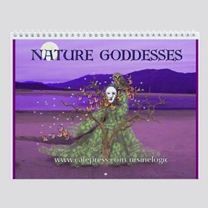 Nature Goddesses 2008 Wall Calendar