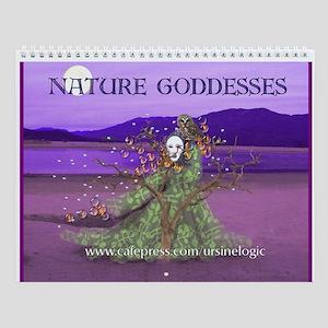 Nature Goddesses Wall Calendar