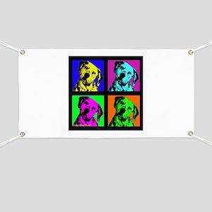 Dalmatian Pup Art Banner