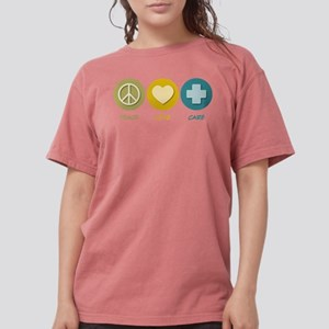 Peace Love Care T-Shirt