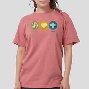 Peace Love Care T-Shirt