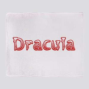 Dracula Throw Blanket