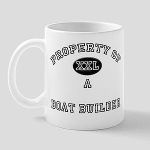 Property of a Boat Builder Mug