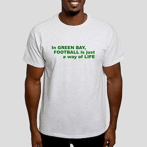 Football Green Bay Light T-Shirt