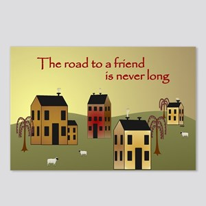 Friend Postcards (Package of 8)
