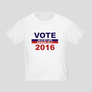 VOTE 2016 Toddler T-Shirt