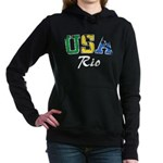 USA Rio Women's Hooded Sweatshirt