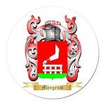Mongenot Round Car Magnet