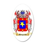 Mongeaud 35x21 Oval Wall Decal