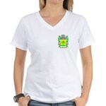 Monge Women's V-Neck T-Shirt