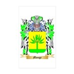 Monge Sticker (Rectangle 50 pk)
