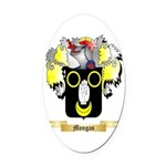 Mongan Oval Car Magnet