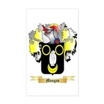 Mongan Sticker (Rectangle)
