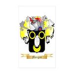 Mongan Sticker (Rectangle 10 pk)