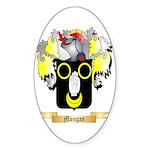 Mongan Sticker (Oval)