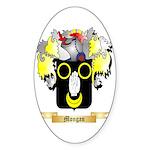 Mongan Sticker (Oval 10 pk)