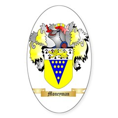 Moneyman Sticker (Oval 10 pk)