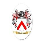 Mondragon Oval Car Magnet