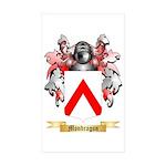 Mondragon Sticker (Rectangle 50 pk)