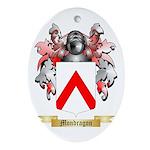 Mondragon Oval Ornament