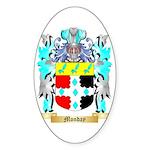 Monday Sticker (Oval 50 pk)