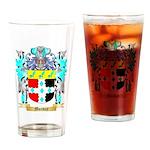 Monday Drinking Glass