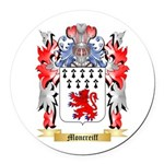 Moncreiff Round Car Magnet