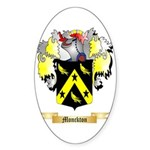 Monckton Sticker (Oval 50 pk)