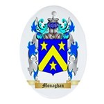 Monaghan Oval Ornament