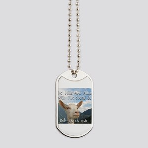 Musical and Goat Humor Dog Tags